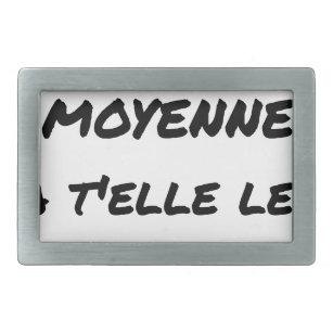 ed8c190e62ae BOUCLE DE CEINTURE RECTANGULAIRE LA CLASSE MOYENNE A T ELLE LES MOYENS