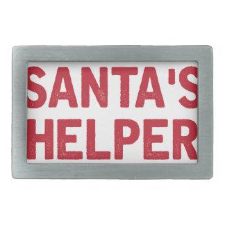Boucle De Ceinture Rectangulaire L'aide de Père Noël