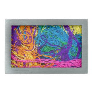 Boucle De Ceinture Rectangulaire Le fil embrouille la photo