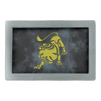 Boucle De Ceinture Rectangulaire Lion
