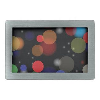 Boucle De Ceinture Rectangulaire Lumières colorées