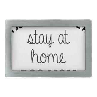 Boucle De Ceinture Rectangulaire Maman de chien de séjour à la maison