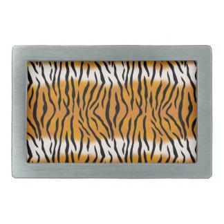 Boucle De Ceinture Rectangulaire Motif de tigre