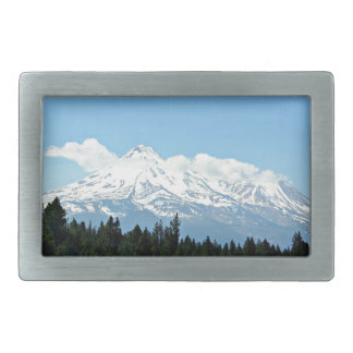 Boucle De Ceinture Rectangulaire Nature de paysage de montagne de Shasta la