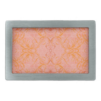 Boucle De Ceinture Rectangulaire orange