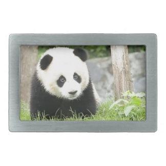 Boucle De Ceinture Rectangulaire Panda de bébé