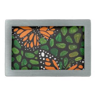 Boucle De Ceinture Rectangulaire Papillons