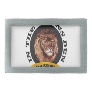 Boucle De Ceinture Rectangulaire repaire des lions Daniel