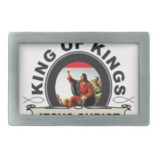 Boucle De Ceinture Rectangulaire Roi des rois JC