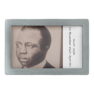 Boucle De Ceinture Rectangulaire Scott Joplin