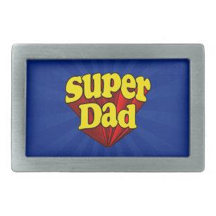 Boucle De Ceinture Rectangulaire Super héros bleu jaune rouge de fête des pères  de 596b9d04f14