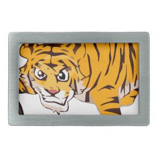 Boucle De Ceinture Rectangulaire tiger4