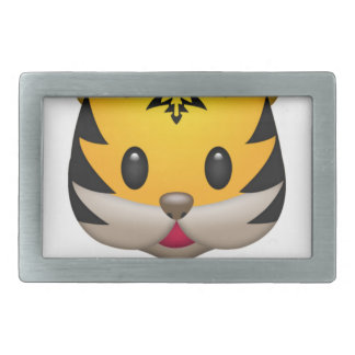 Boucle De Ceinture Rectangulaire Tigre mignon Emoji
