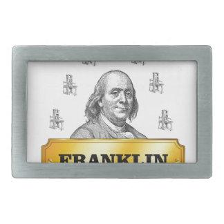 Boucle De Ceinture Rectangulaire voûte de presse de Franklin