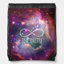 Boucle d'infini et arrière - plan de hippie de sac à dos
