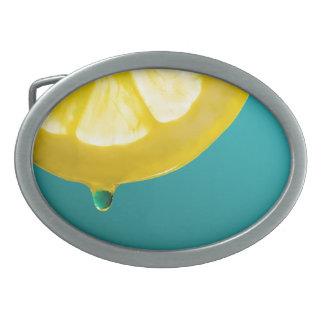 Boucles De Ceinture Ovales Compression de citron