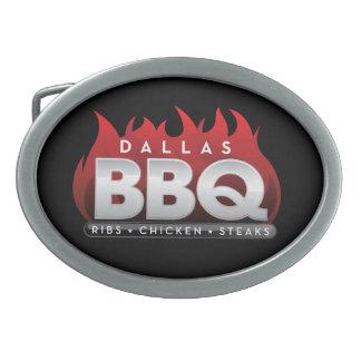 Boucles De Ceinture Ovales Étain de BBQ de Dallas