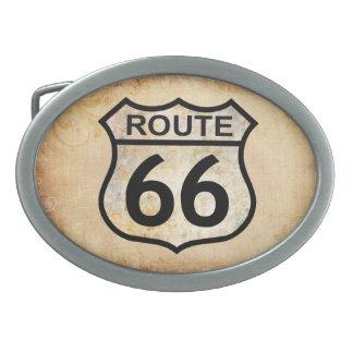 Boucles De Ceinture Ovales Itinéraire 66