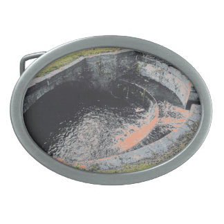 Boucles De Ceinture Ovales Une piscine orange dans Welshpool