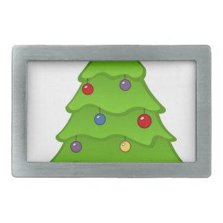 Boucles De Ceinture Rectangulaires Arbre de Noël