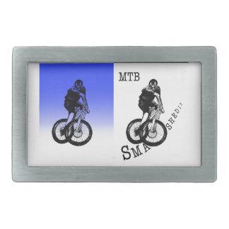 Boucles De Ceinture Rectangulaires Autocollants de CYCLISTE du cycliste MTB BMX de