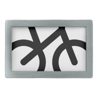 Boucles De Ceinture Rectangulaires Bicyclette simple