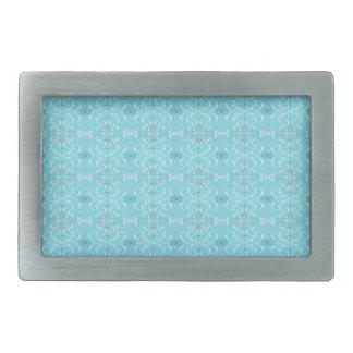 Boucles De Ceinture Rectangulaires bleu