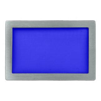 Boucles De Ceinture Rectangulaires Bleu royal vibrant foncé de couleur de Web de code