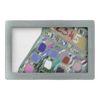 Boucles De Ceinture Rectangulaires calculator2 coloré