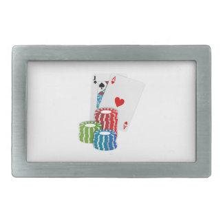 Boucles De Ceinture Rectangulaires Cartes et puces de tisonnier