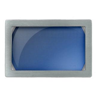 Boucles De Ceinture Rectangulaires conception bleue de cercle de bouton