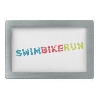 Boucles De Ceinture Rectangulaires Conception de triathlon