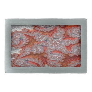 Boucles De Ceinture Rectangulaires Contact de fractale d'étincelle