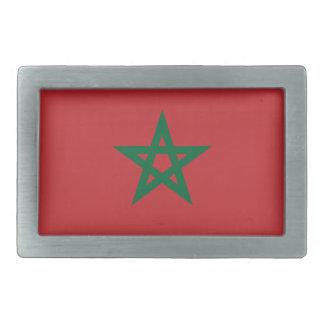 Boucles De Ceinture Rectangulaires Coût bas ! Drapeau du Maroc