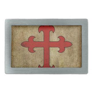 Boucles De Ceinture Rectangulaires Croix de croisé