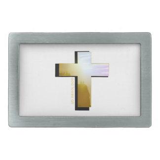 Boucles De Ceinture Rectangulaires Dieu aime tous