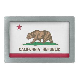 Boucles De Ceinture Rectangulaires Drapeau d'état de la Californie