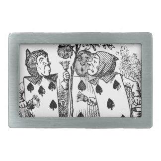 Boucles De Ceinture Rectangulaires Employés de carte de jeu
