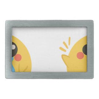 Boucles De Ceinture Rectangulaires farm emojis - ils chicken