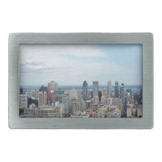 Boucles De Ceinture Rectangulaires Horizon de ville de Montréal
