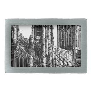 Boucles De Ceinture Rectangulaires Illustration de cathédrale
