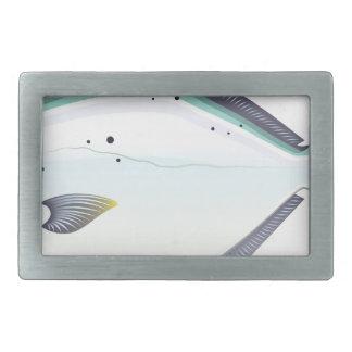 Boucles De Ceinture Rectangulaires Illustration de vecteur de poissons de la Floride