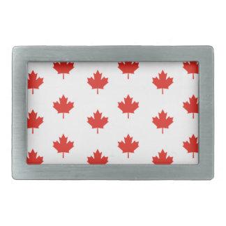 Boucles De Ceinture Rectangulaires Jour de nation de pays d'emblème du Canada de