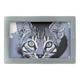 Boucles De Ceinture Rectangulaires Kitty mignon