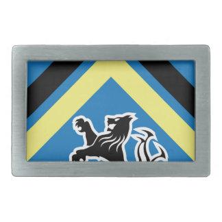 Boucles De Ceinture Rectangulaires Manteau des rayures du lion 2 de dragon de bras