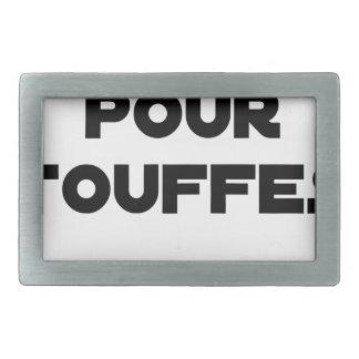 Boucles De Ceinture Rectangulaires MARIAGE POUR TOUFFES - Jeux de Mots