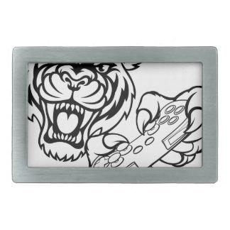 Boucles De Ceinture Rectangulaires Mascotte de Gamer de tigre