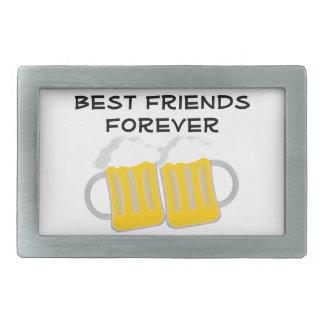 Boucles De Ceinture Rectangulaires Meilleurs amis pour toujours