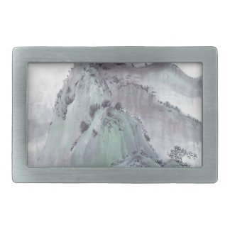 Boucles De Ceinture Rectangulaires Montagne sauvage