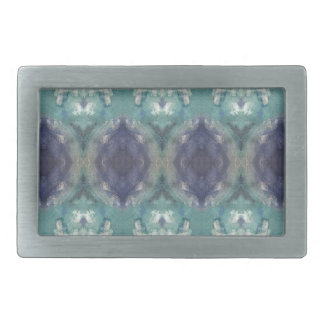 Boucles De Ceinture Rectangulaires Motif bleu